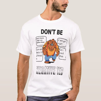negテッド tシャツ