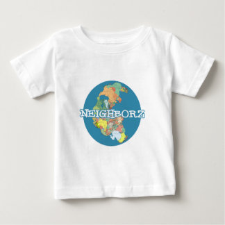 Neighborz Pangeaの地球 ベビーTシャツ