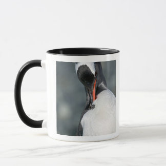 Neko港南極大陸のGentooのペンギン マグカップ