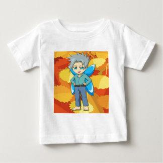 Nekoni著マンガの妖精 ベビーTシャツ
