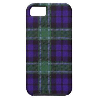 Nekoni著描かれる実質のスコットランドのタータンチェック-グラハム- iPhone SE/5/5s ケース
