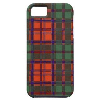 Nekoni著描かれる実質のスコットランドのタータンチェック-グラント- iPhone SE/5/5s ケース