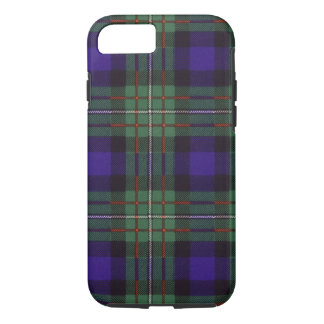 Nekoni著描かれる実質のスコットランドのタータンチェック-ファーガソン- iPhone 8/7ケース