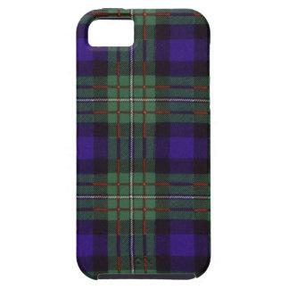 Nekoni著描かれる実質のスコットランドのタータンチェック-ファーガソン- iPhone SE/5/5s ケース