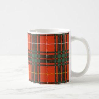 Nekoni著描かれる実質のスコットランドのタータンチェック-ブルース- コーヒーマグカップ