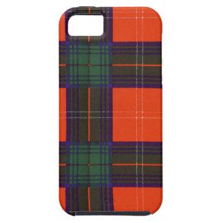 Nekoni著描かれる実質のスコットランドのタータンチェック- Chisholm - iPhone SE/5/5s ケース