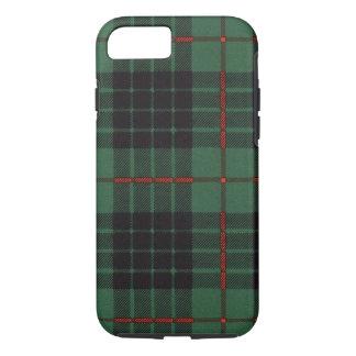 Nekoni著描かれる実質のスコットランドのタータンチェック- Gunn - iPhone 8/7ケース