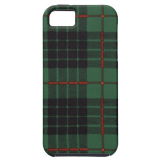 Nekoni著描かれる実質のスコットランドのタータンチェック- Gunn - iPhone SE/5/5s ケース