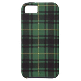 Nekoni著描かれる実質のスコットランドのタータンチェック- Macarthur - iPhone SE/5/5s ケース