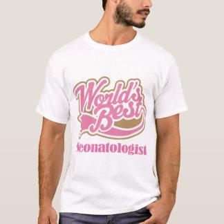 Neonatologistのピンクのギフト Tシャツ
