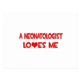 Neonatologistは私を愛します ポストカード