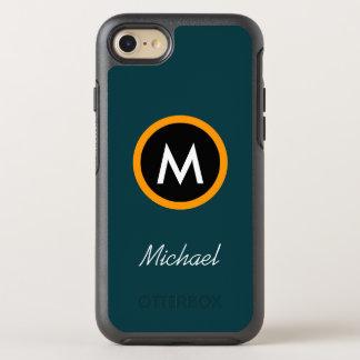 Neotericモノグラムの名前のテンプレート オッターボックスシンメトリーiPhone 7 ケース