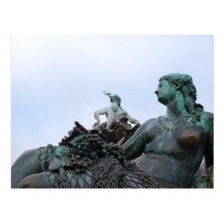 Neptunbrunnen -ネプチューン噴水-ベルリン ポストカード