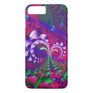 Nerdberriesのサイケデリックなフラクタル iPhone 8 Plus/7 Plusケース