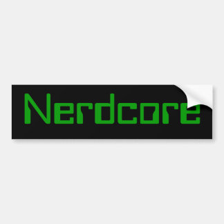 Nerdcoreのバンパー1 バンパーステッカー