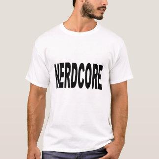 nerdcoreはGFをティーにのせます Tシャツ