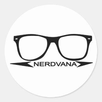 Nerdvanaのスワッグ ラウンドシール
