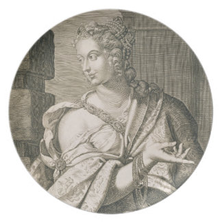 Nero (版木、銅版、版画)のStatilia Messalinaの第3妻 プレート