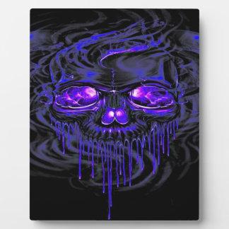 Nerpulの紫色の骨組 フォトプラーク