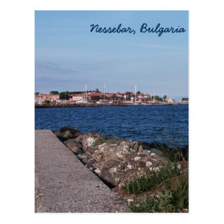 Nessebar、ブルガリアからの郵便はがきの眺め ポストカード