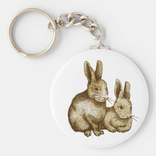 Netherland Dwarf : Rabbit キーホルダー