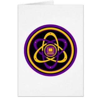 Netsurferの放射性ロゴ カード