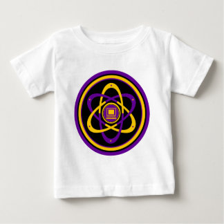 Netsurferの放射性ロゴ ベビーTシャツ