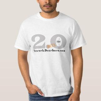 NetworkDearborn.com 2.0のベータTシャツ Tシャツ