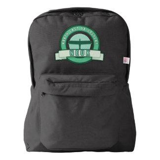 NEUK Cosplay旅行RuckPak (黒) American Apparel™バックパック