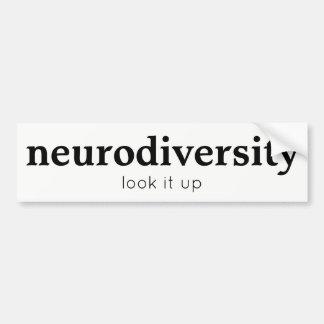 Neurodiversityのバンパーステッカー バンパーステッカー