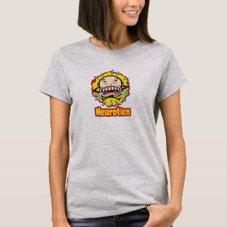 Neuroticoの泣き虫の漫画のロゴのTシャツ Tシャツ