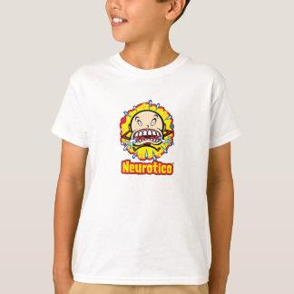 Neuroticoの泣き虫の漫画のロゴはTシャツをからかいます Tシャツ