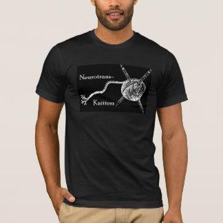 Neurotrans編機械の人 Tシャツ