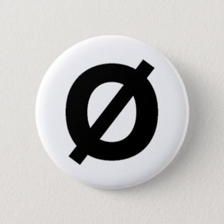 Neutroisの記号ボタン 5.7cm 丸型バッジ