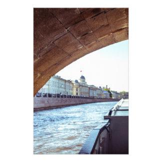 Nevaの川の巡航 便箋