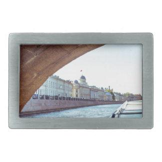 Nevaの川の巡航 長方形ベルトバックル