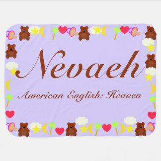 Nevaehのベビーブランケットのテンプレート ベビー ブランケット