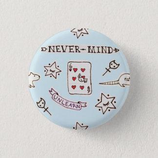NevermindエミリーX MILKGRRL 3.2cm 丸型バッジ