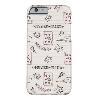 NevermindエミリーX MILKGRRL Barely There iPhone 6 ケース