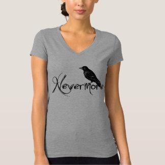 NevermoreエドガーアレンPoeのワタリガラスハロウィン Tシャツ