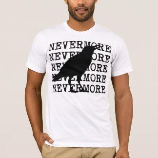 Nevermoreエドガー・アラン・ポーのTシャツによるワタリガラス Tシャツ