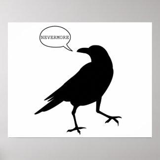 Nevermoreワタリガラスポスター ポスター