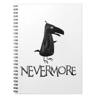 NEVERMOREワタリガラス ノートブック