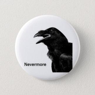 Nevermoreワタリガラス 5.7cm 丸型バッジ