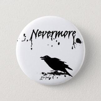 Nevermore 5.7cm 丸型バッジ