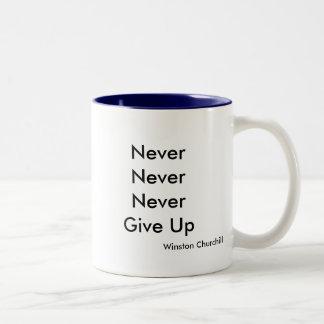 NeverNeverNeverGive、ウィンストン・チャーチル ツートーンマグカップ