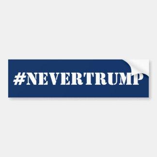#nevertrumpの青 バンパーステッカー
