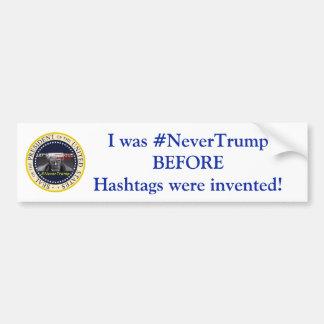 #NeverTrump バンパーステッカー