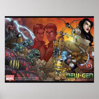 NEW-GENのための戦争 ポスター