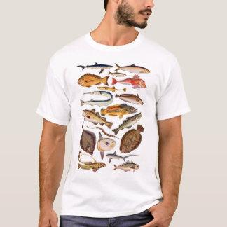 newartsweb -そうもっとたくさんの魚、そう少し時間 tシャツ